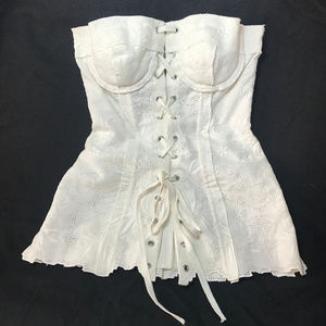 New Dolce & Gabbana corset top bustier